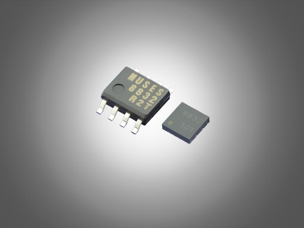 MUSES8832是一款2路雙極輸入形式的音頻運算放大器,應用了MUSES運放旗艦版的集成電路和芯片版圖的獨特設計技術,是全新開發的MUSES運算放大器系列的低壓版。 該運算放大器既沿襲了MUSES系列執著追求的高音質開發理念,又實現了低壓(1.35V、+2.7V)驅動及低噪聲(2.1nV/ Hz typ.